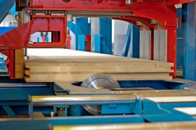 La Legnami - Centro di Taglio Hundegger - Fresatura 1250mm
