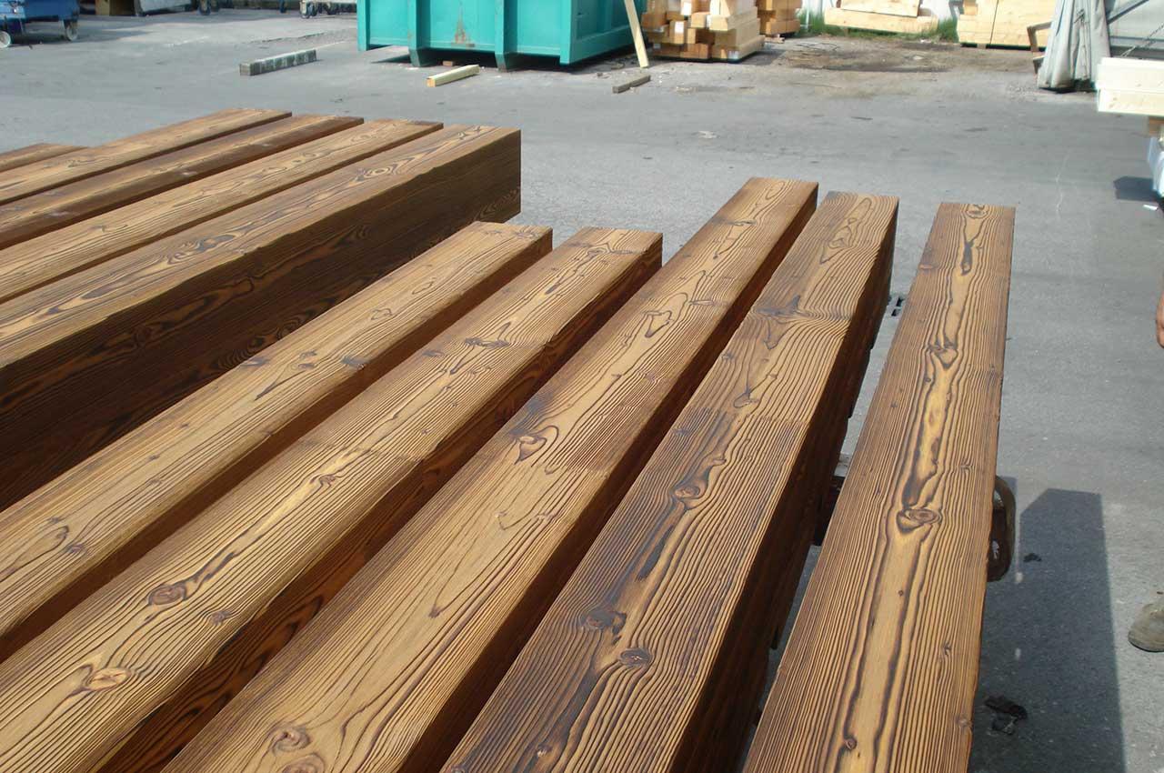 travi in legno, legno massello, lavorazioni legno