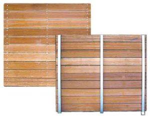 pedana legno naturale